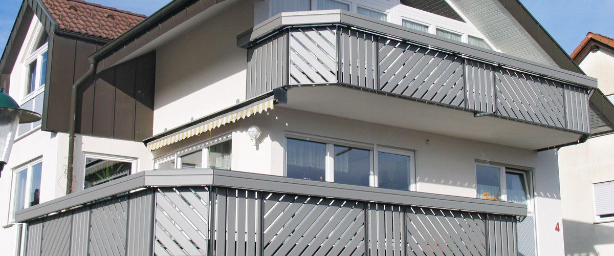 m ller balkone wartungsfrei aluminium balkone und profile. Black Bedroom Furniture Sets. Home Design Ideas